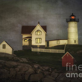 Nubble Lighthouse Texture by Jerry Fornarotto