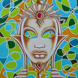 Joseph Sonday - Nubian Modern Ivory Mask