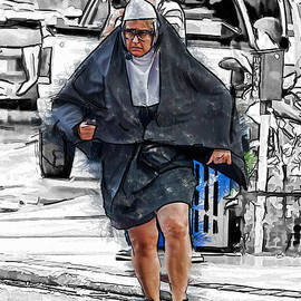 Nun on the Run by John Haldane