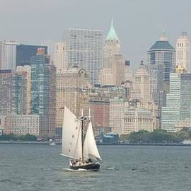 NY City Skyline by Christopher James
