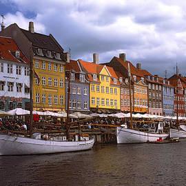 Nyhavn Copenhagen by Sally Weigand