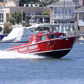 OC Sheriff Harbor Patrol Fire Fighter by Shoal Hollingsworth