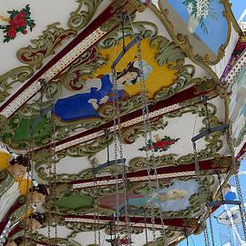 Ocean City - Carousel Art by Richard Reeve