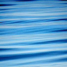 Deep Blue Ocean Abstract by Roxy Hurtubise