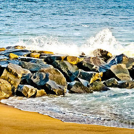 Ocean Jetty by Colleen Kammerer