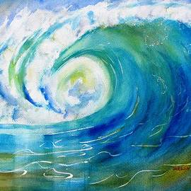 Ocean Wave by Carlin Blahnik CarlinArtWatercolor