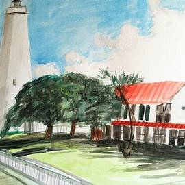 Asuncion Purnell - Ocracoke island lighthouse