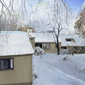 Oct snow storm by Stuart B Yaeger