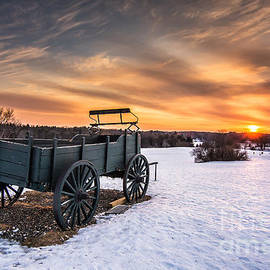 Off into the sunset by Scott Thorp