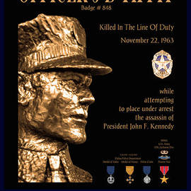 Robert J Sadler - Officer J D Tippit Memorial Poster