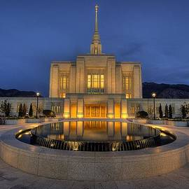 Ogden Temple Reflections by Ryan Smith
