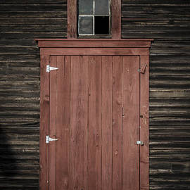Old Barn Door by Edward Fielding