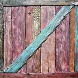 Old Barnyard Gate 2 by Asha Carolyn Young