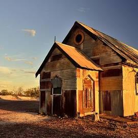 Christopher Vidal - Old Chapel at Lightning Ridge NSW