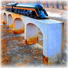 Old Choo-choo Train Model by K Scott Teeters