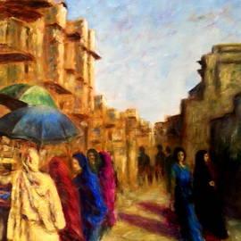 Uma Krishnamoorthy - Old city Ahmedabad series 5