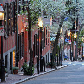 Juergen Roth - Old Colonial Brick Row Houses of Beacon Hill