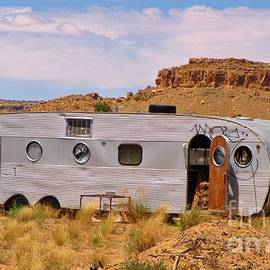 Old Deserted Trailer by John Malone