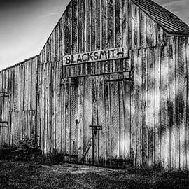 Old Fort Wayne Blacksmith Shop by Gene Sherrill