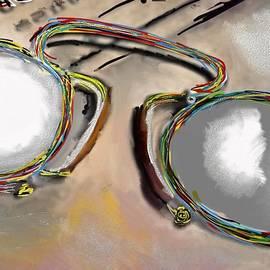 Old Glasses by Ricardo Mester