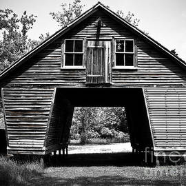 Old Corn Crib by Colleen Kammerer