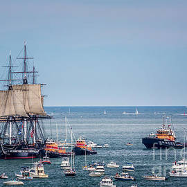 Old Ironsides Sail by Susan Cole Kelly