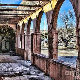 Old Jacumba Hot Springs Arches by Diana Sainz by Diana Raquel Sainz
