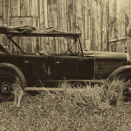 Thomas Woolworth - Old Jalopy Behind The Barn