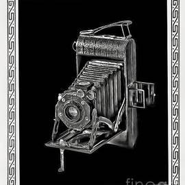Old Kodak Camera and Border by Walt Foegelle