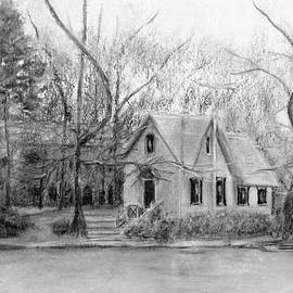 Loretta Luglio - Old Library on Lake Afton - Winter