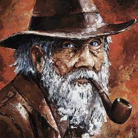 Emerico Imre Toth - Old Man with Pipe