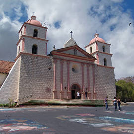 Old Mission Santa Barbara by Glenn McCarthy Art and Photography