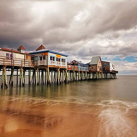 Old Orchard Beach Pier by Shell Ette