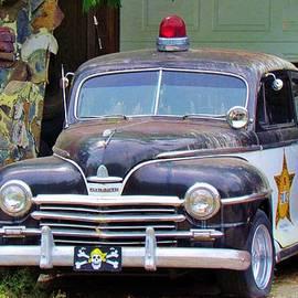 Old Police Car by Cynthia Guinn