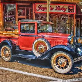 Thomas Woolworth - Old Red PickUp Truck