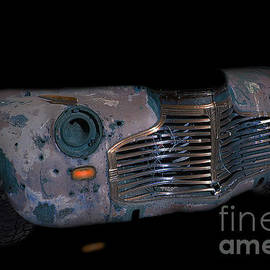 Old Rusty Junk Car In Vivid Colors by Gunter Nezhoda
