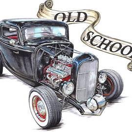 Shannon Watts - Old School 32 Ford