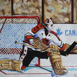 Old School Goalie by Alan Salvaggio