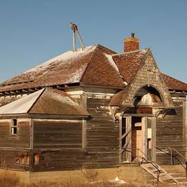 Jeff Swan - Old Schoolhouse outside of Williston North Dakota