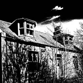 Old Scottish Farmhouse by Liz  Alderdice