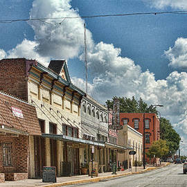 Old Town Brenham by Linda Phelps