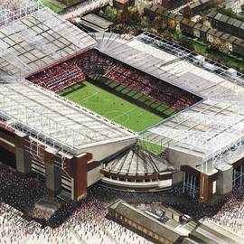Old Trafford - Manchester United by Kevin Fletcher