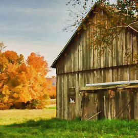 Jeff Folger - Old weathered barn