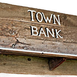 Valerie Garner - Old Western Town Bank Sign