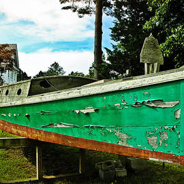 Old Wooden Boat by Colleen Kammerer