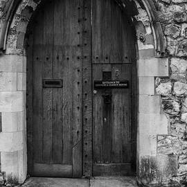 Old Wooden Church Door by Claire  Doherty
