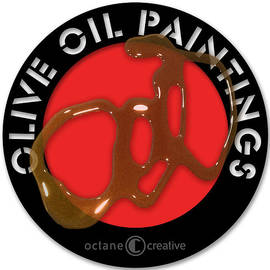 Olive Oil Paintings Logo by Tim Nyberg