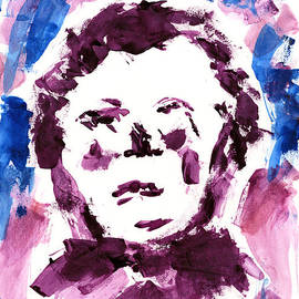 Frank Bright - Oliver Twist Portrait Watercolor