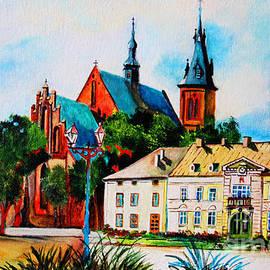 Olkusz Town Center by Ryszard Sleczka