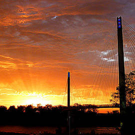 Omaha Sunrise by Jeff Lowe